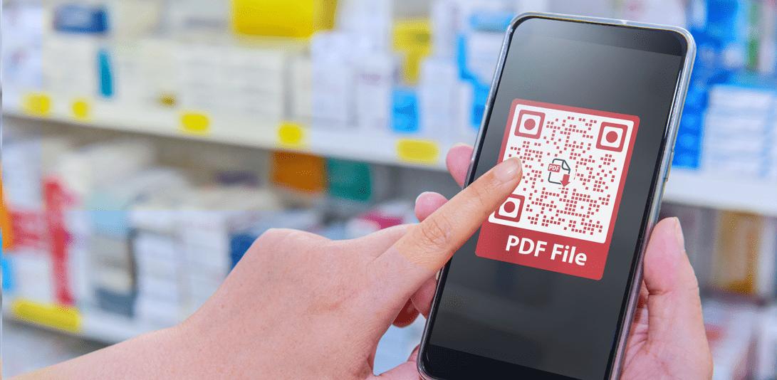 QR Code PDF File
